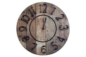 掛け時計 バレルクロック