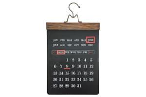 黒板 万年カレンダー
