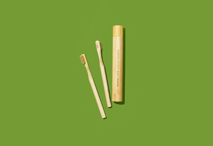 【編集部のお買いもの日記】vol.7 〈mana. ORGANIC LIVING〉の竹歯ブラシ