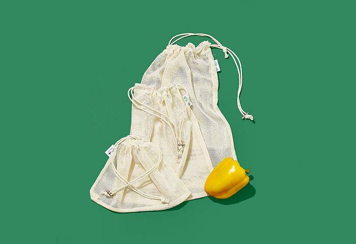 【編集部のお買いもの日記】vol.22 〈mana.ORGANIC LIVING〉のオーガニックコットン 野菜バッグ