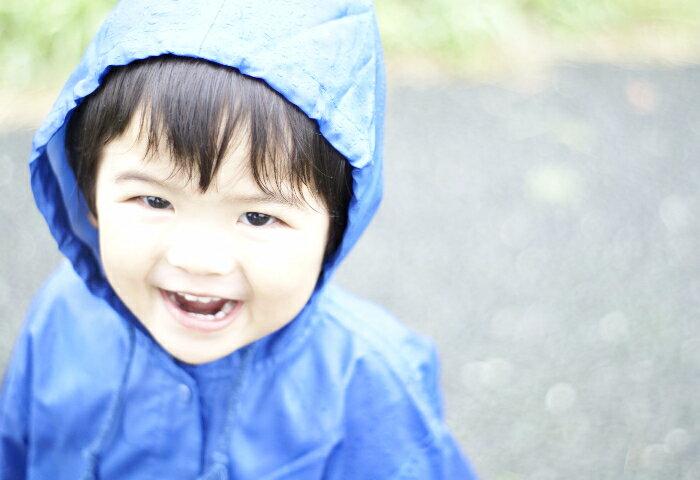雨の日もテンションアップ! キッズのレインウェア