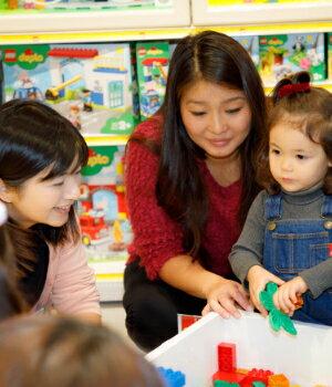 いろいろ作れるようになる3才以降は親との会話が発想力を養う