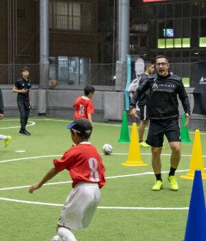 イニエスタメソドロジーサッカー教室 ママの学校スペシャル