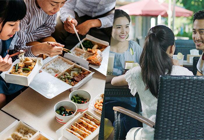誰かの作った料理が食べたい…安心安全な外食&テイクアウトを活用しよう!