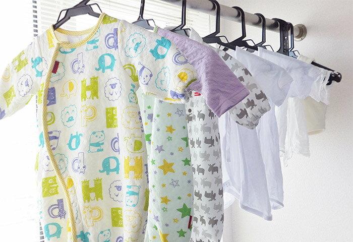 ベビー服に水通しする理由や方法、注意点をご紹介!水通しの収納・保管方法も