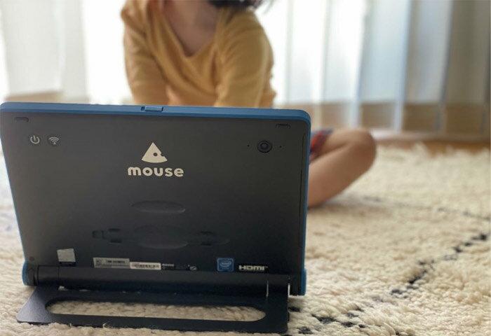 """【親子で満足!】 子ども用パソコン """"mouse E10""""がパパ・ママにもおすすめな理由"""