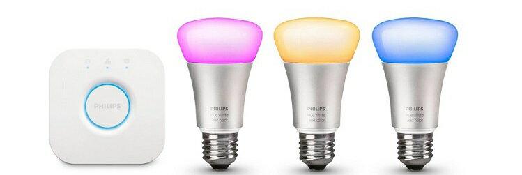 自由に色を変えられるLED電球「Hue」