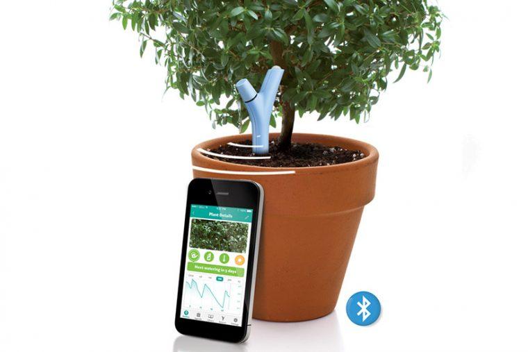 植物の状態を観測してくれるパロット「フラワーパワー」