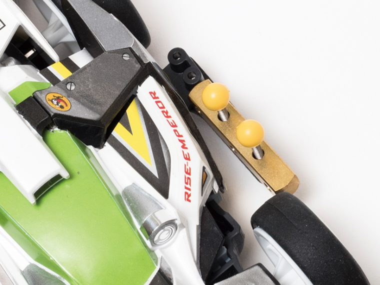 MAシャーシ サイドマスダンパーセットはボディに触れず設置可能