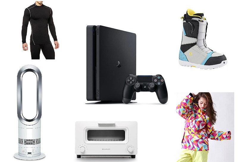 新型「PS4」が2万円台!この冬楽天でお得にゲットできる家電やスポーツ用品とは!?