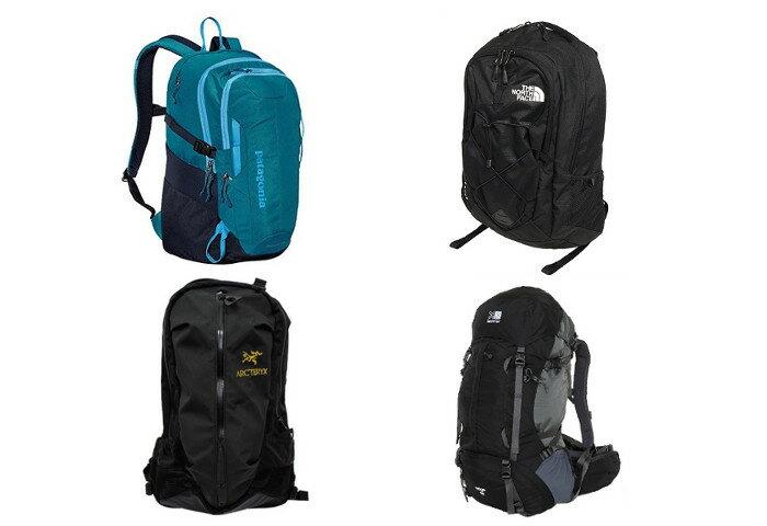 ハイキングやレジャーのパートナー 高機能が〇なアウトドアブランドのバックパック