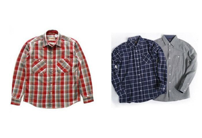 """着心地の良さとこなれ感で差をつける、人気の""""ネルシャツ""""4選"""