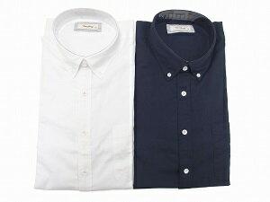BD=ボタンダウンのシャツは、上品なコーデからカジュアルまで使えて、着回し力があるので一枚持っておくと重宝しますよね。春先の肌寒い時には羽織りモノとしても。サイズは2L〜5Lまであって、ビッグサイズボタンダウンシャツを探していた方には最適です。フロントの見返しにトリコロールのテープがチラ隠れしてるのがポイント。