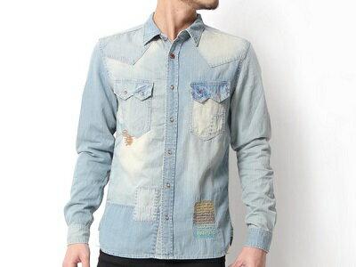 アメカジをベースに現代のトレンドをMIXさせたブランド『クリフメイヤー』の一着。ウエスタンなデザインの中にある、独特なダメージ加工がポイントです。グランジ感がありながらも、背中の切り替えでスタイリッシュなシルエットに。オフにさらりと着こなしてほしい逸品です!