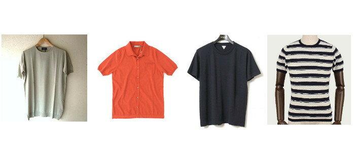"""夏の大定番アイテムといえばTシャツですが、今年はワンランク上の""""半袖ニット""""に挑戦して欲しい。Tシャツよりきちんとしていて、シャツよりカジュアルに着こなせる。国内外各ブランドからも上質なニットが登場しています。モードなデザインをチェック!"""