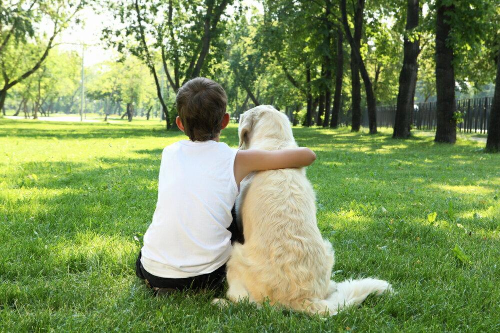 犬と子供が遊べるお出かけスポット