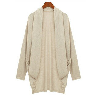 开襟毛衣・短外套