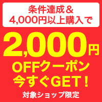 4,000円以上購入で使える2000円クーポンをGET!