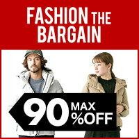 ファッション・ザ・バーゲン 最大90%オフ!