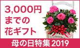 3,000円までの母の日の花ギフトを探そう!