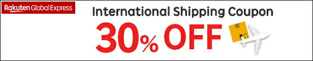 Rakuten Global Express 30%OFF Shipping Coupon