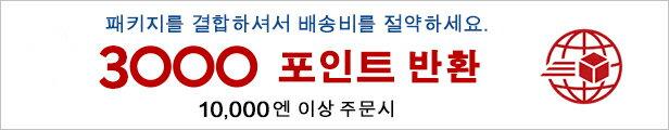 Rakuten Global Express 3,000 포인트 선물 캠페인