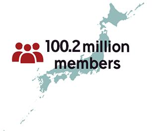 100.2 million members