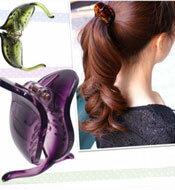 ヘッドアクセ 髪飾り 簡単ヘアアレンジ