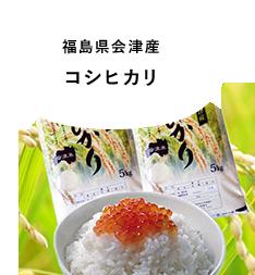 福島県会津産 コシヒカリ