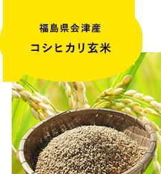 福島県会津産 コシヒカリ玄米