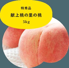 特秀品 献上桃の里の桃 3kg