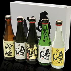 杜氏厳選飲み比べセット 奥の松 (300ml×5本)