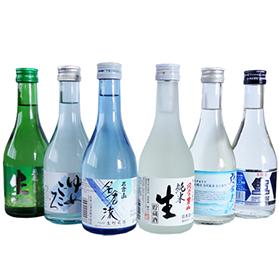日本酒飲み比べセット 会津の生貯蔵酒 (300ml×6本)