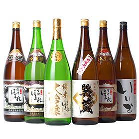 日本酒飲み比べセット 会津ほまれ (特定名称酒1.8L×6本)