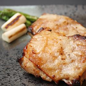 高級ブランド伊達鶏の塩麹焼き