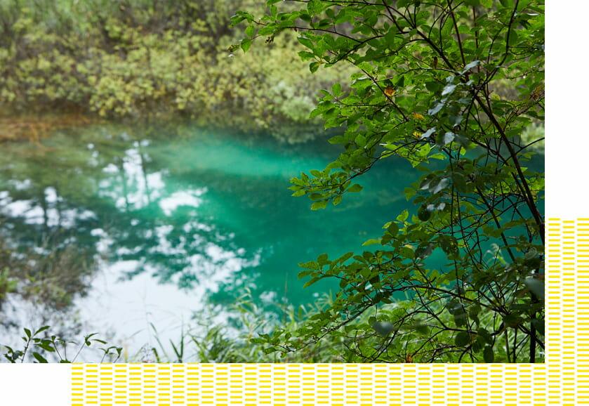 裏磐梯の豊かな自然もその魅力の1つ