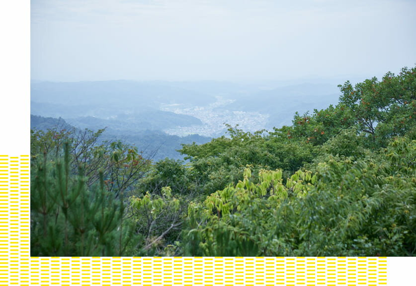 福島県伊達郡の丘陵地域に位置する川俣町