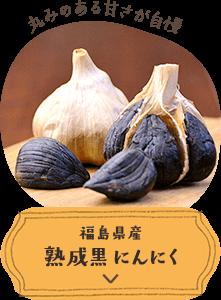 福島県熟成黒にんにく