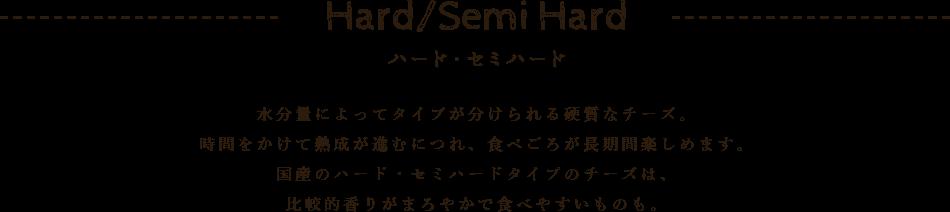 ハード・セミハード