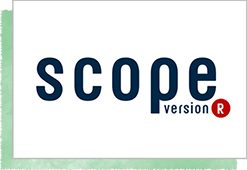 scope version.R ロゴ