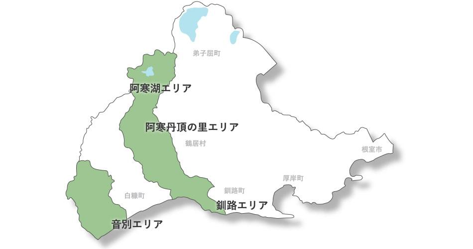 釧路市地図