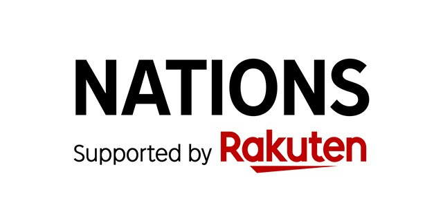 NATIONS Supported by Rakuten