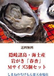 隠岐諸島・海士産 岩がき「春香」Mサイズ5個セット