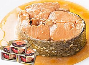 南三陸産銀鮭の醤油煮缶詰 3缶ギフト
