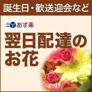 誕生日・歓送迎会など 即日配達のお花