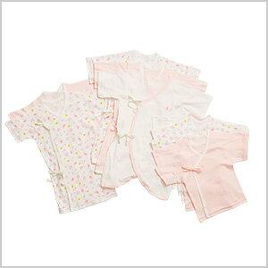お着替えが多い新生児期にぴったりな肌着10枚セット