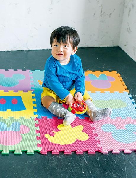 ジョインマット ミッキーマウス&ミニーマウス[9枚入り、1枚のサイズ:縦31.5×横31.5×厚み1.0�]