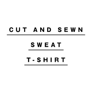 CUT AND SEWIN / SWEAT / T-SHIRT カットソー・スウェット・Tシャツ