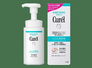 Curel 泡洗顔料 150ml