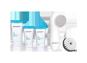 プロアクティブプロアクティブプラス 基本お試しセット 30日分 電動洗顔ブラシ付